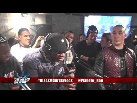 """Black M feat Dr. Berize """"La Légende Black"""" et freestyle de Maska en live dans Planète Rap."""