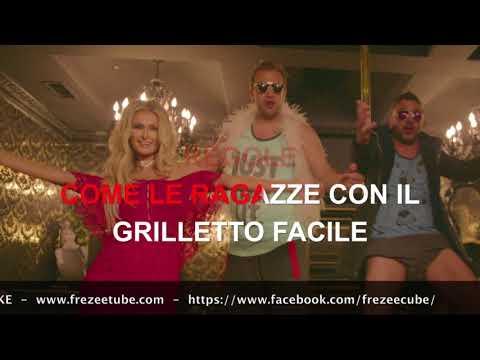 J-ax & Fedez - Senza pagare - Karaoke con testo