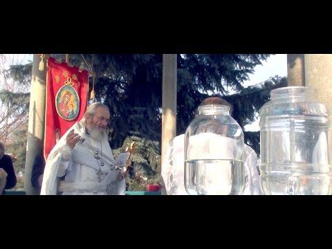 Праздник Крещения (Богоявления) в Храме Архангела Михаила 2017