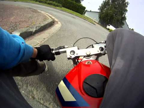 Pocket bike camra embarque (GoPro)