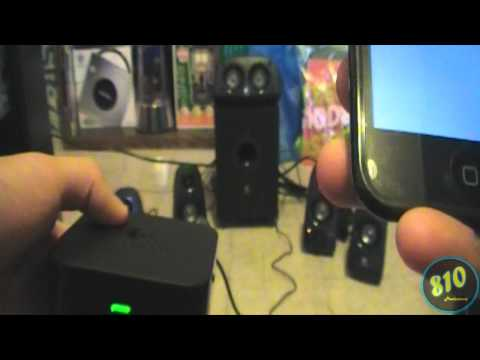 Logitech Wireless Speaker Adapter For Bluetooth Audio Devices Review & How-To