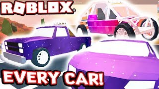 BUYING EVERY CAR IN ROBLOX JAILBREAK!!