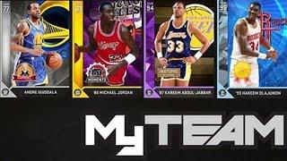 NBA 2K16 MyTeam Kareem Abdul-Jabbar & The Gauntlet!