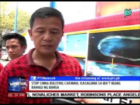 News@6: 'Stop China Bullying Caravan', isasagawa sa iba't ibang bahagi ng bansa