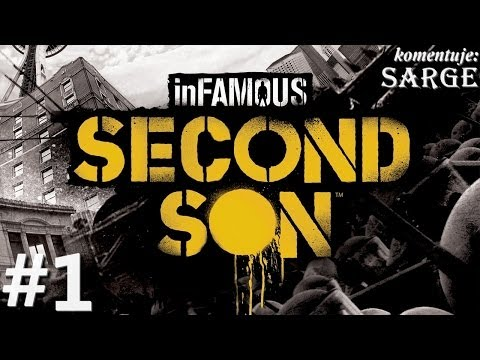Zagrajmy w inFamous: Second Son PS4 odc. 1 Sandbox z supermocami