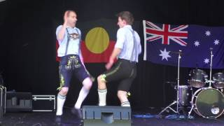 German Slap Dance  in Australia -  Deutscher Watschentanz in Australien