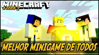 MELHOR MINIGAME DE TODOS! Minecraft a Série2 (Ft.TazerCraft):Ep.31