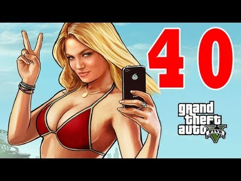 Let´s Play Grand Theft Auto 5 / GTA V Gameplay Deutsch - Part 40 - Franklins neue Pornobude