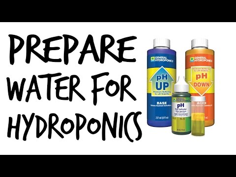 How To Prepare Water For Hydroponics  By Epic Gardening
