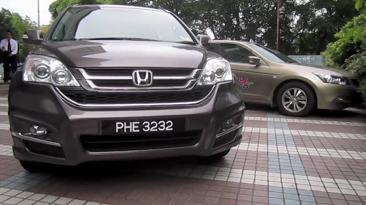 2010 Honda CR-V 2.0i-VTEC (with Modulo bodykit) Start-Up and Full Vehicle Tour - YouTube