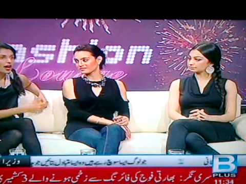 Rubya Chaudhry, Nadia Hussain & Unknown Model - Boobs & Sexy Legs - Pakistan Fashion