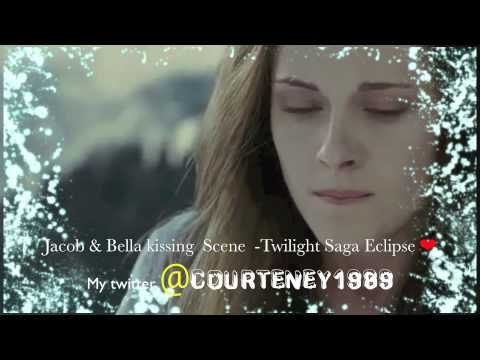 Jacob and Bella Kissing Scene  Twilight Saga Eclipse