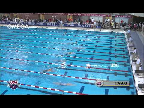 Women's 200m Breaststroke B Final - 2012 Columbus Grand Prix