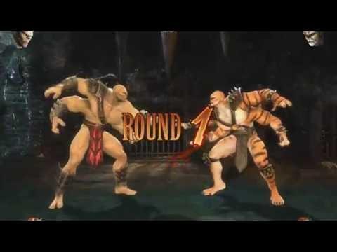 Mortal Kombat 9 PS3, Goro Real time Mod