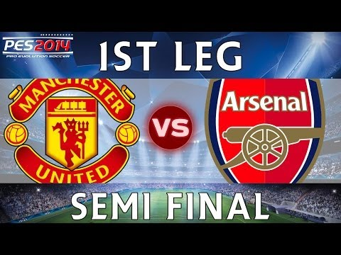 [TTB] PES 2014 - Arsenal CL Series - Manchester United Vs  Arsenal - 1st Leg - SEMI FINAL