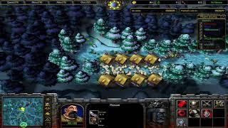 Warcraft 3: TFT [Custom] #269 Farmers vs Hunters s2 0.21 - Manas mi ovládá slepice!