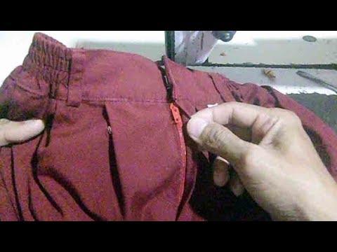cara memasang resleting rok lipit seragam SD thumbnail