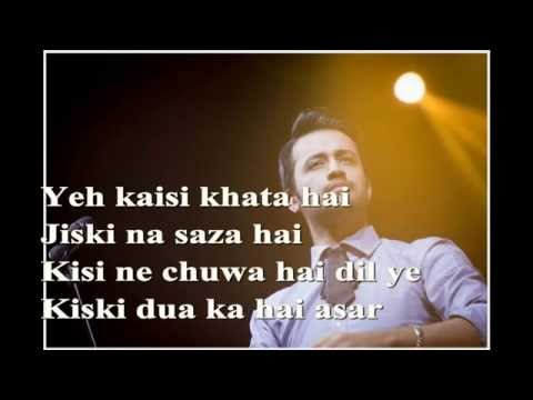 Tera Naam Doon (Poochay jo koi ) Lyrics song by Atif Aslam