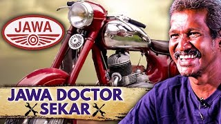 Sekar : The Jawa Doctor | Bullet & Vintage Bikes Comparison | Interview