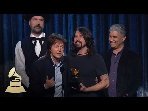 Paul McCartney, Dave Grohl, Krist Novoselic and Pat Smear Win Best Rock Song