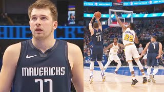 Luka Doncic Destroys & Outscores Entire Warriors In First Half! Mavericks vs Warriors