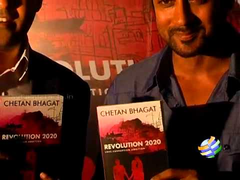Surya Launches Chetan Bhagat Revolution 2020.
