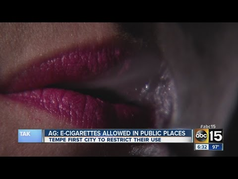 E-Cigarette Ban in Public Places?