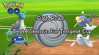Best Pokemon For The Tempest Cup In Pokemon GO