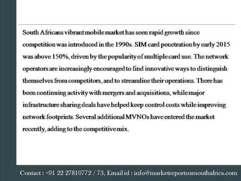 Telecoms, Mobile and Broadband Market Insights in South Africa