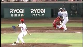 Ballplayer's Amazing Wall-Climbing Catch - Masato Akamatsu Makes One of the Greatest Catches Ever