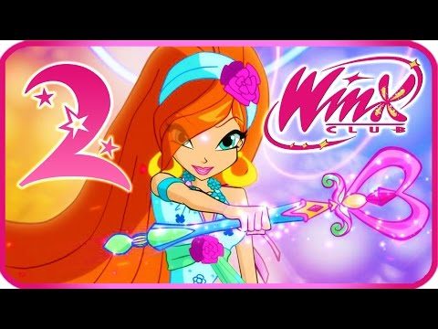 ✦✦ WINX CLUB Walkthrough Part 2 (PC. PS2) Alfea - Exploring new school and getting ready! ✦✦