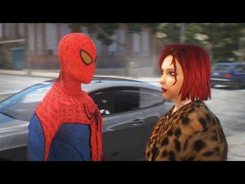 SPIDERMAN PICKING UP GIRLS in GTA 4