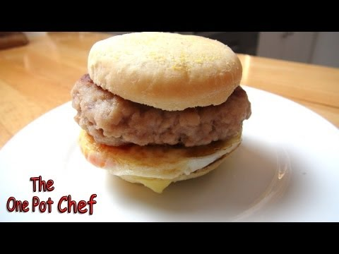 Home Made Sausage and Egg McMuffins - MCDONALDS RECIPE