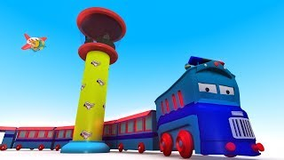Cartoon City - Cars for Kids - Toy Train for Children - Videos for Children - Chu Chu Train - jcb