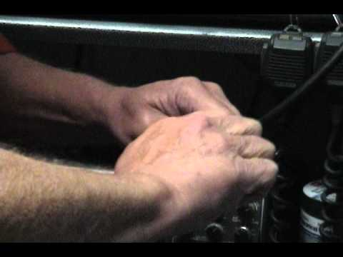 How to make a  jumper cable for Ham radio. Pt. one.wmv
