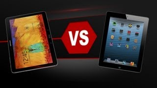 iPad 4 Vs. Galaxy Note 10.1 (2014)
