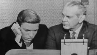 What's My Line? - Richard Chamberlain & Raymond Massey; Joey Bishop [panel] (Jul 29, 1962)