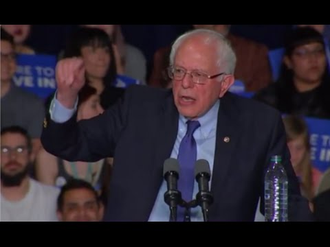 Bernie Speech That All Major News Networks Ignored To Trump Hump