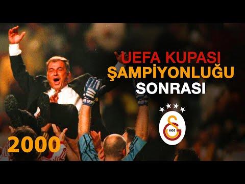 UEFA Kupası | 17 Mayıs 2000 UEFA Kupası Şampiyonluğun ardından