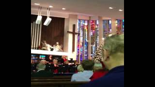 CHRISTMAS BELL RINGERS AND CHOIR,  REAL OLD FASHION AMERICANA