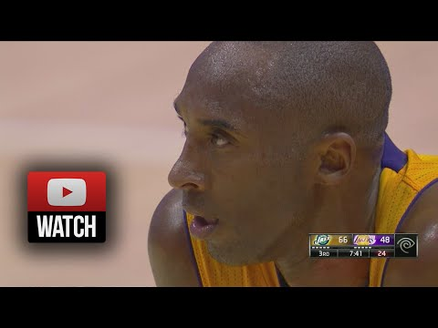 Kobe Bryant Full Highlights vs Jazz (2014.10.16) - 27 Pts
