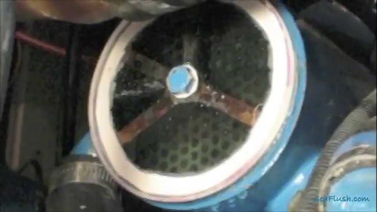 How To Clean Boat Engine Heat Exhanger Using Sea Flush And