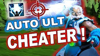 Dota 2 CHEATERS - Zeus with AUTO Thundergod's Wrath!