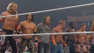 Raw: John Cena & Bret Hart vs. Edge & Chris Jericho