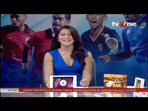 Presenter Tv One Dress Biru Bikin Deg Deg Serr