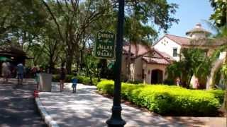 Universal Studios Florida 'Garden of Allah' and 'Allah Villas' area 2012 HD