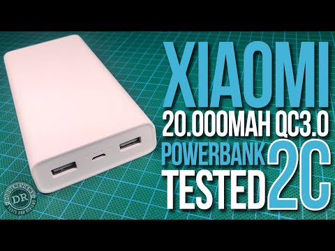 Xiaomi's latest 20.000mAh Quick Charge 3.0 Powerbank 2C tested (PLM06ZM)