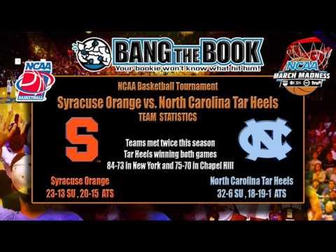 North Carolina vs. Syracuse Final Four Pick, Odds & Prediction
