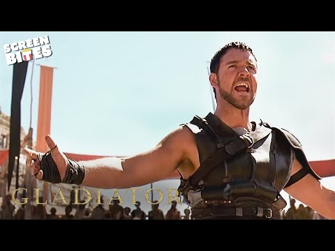 Gladiator   Are You Not Entertained?   Russell Crowe and Oliver Reed