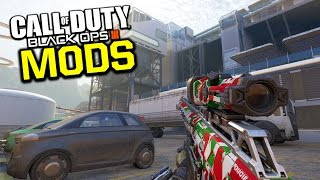 EXPLORING THE OUTISDE OF BO3 MAPS! (Black Ops 3 Mods)